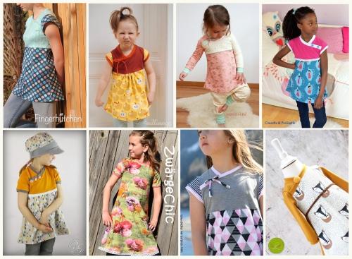 Schnittmuster für ein Kinderkleid