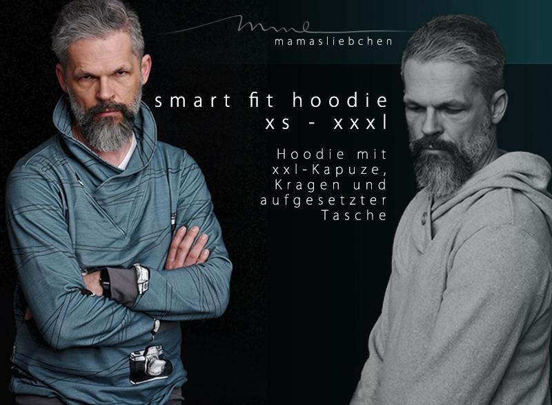 Nähanleitung und Schnittmuster für ein Männer-Sweatshirt