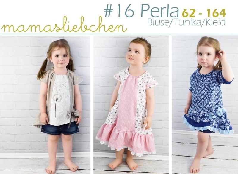 Schnittmuster für ein luftiges Sommerkleid für Kinder