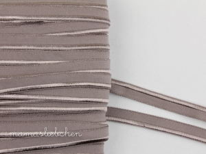 elastisches Paspelband #taupe (1...